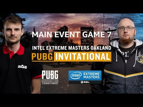 PUBG - GAME 8 - Final - IEM Oakland PUBG Invitational
