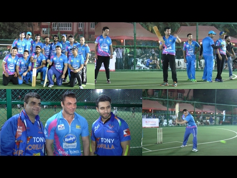 1ST Match Of Tony Premier League With Sohail Khan ,Jay Bhanushali and Many Celebrities