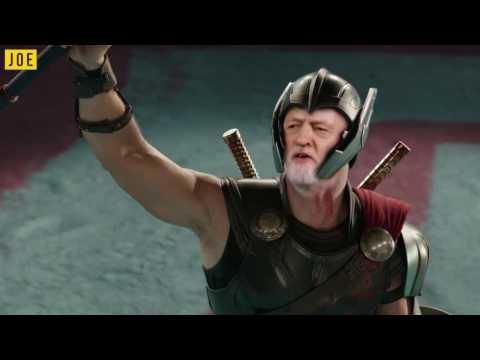 Snap Election - Thor Ragnarok parody with Theresa May and Jeremy Corbyn (видео)