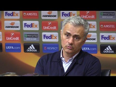 Manchester United 1-1 Celta (Agg 2-1) - Jose Mourinho Full Post Match Press Conference (видео)