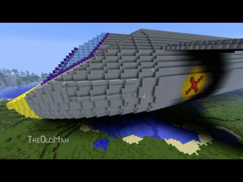Minecraft Skyranger build Time Lapse