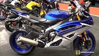 7. 2015 Yamaha YZF-R6 - Walkaround - 2015 Salon Moto de Montreal