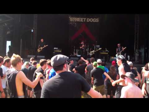 "Street Dogs live @ Greenfield 2012 ""Tobey's got a drinking problem"""