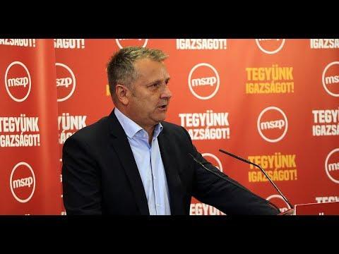 A karakteres szociáldemokrata politika folytatását ígérte Molnár Gyula, az MSZP elnöke hétfőn