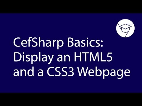Videoguide | Displaying HTML5/CSS3 in CefSharp thumbnail