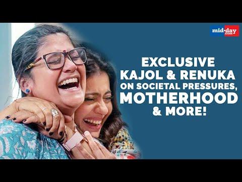 Kajol, Renuka Shahane talk about societal pressures, motherhood & more! | Tribhanga