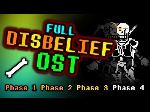 FULL DISBELIEF OST [Undertale]