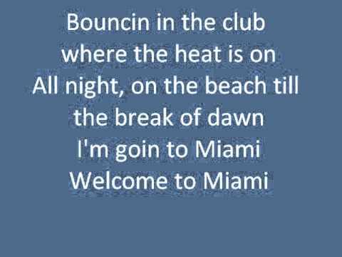 Miami by Will Smith (With Lyrics)