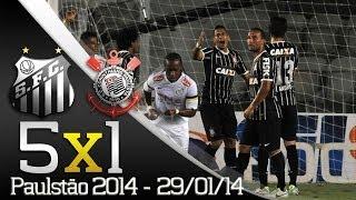 Paulistão 2014 - Veja os gols da vitória de Santos 5X1 Corinthians (29/01/14) ** Inscreva-se na Santos TV e fique por dentro de...