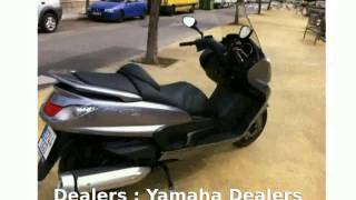 7. 2008 Yamaha Majesty 400 Details & Walkaround