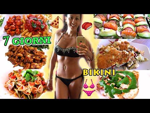 cosa mangiare in una settimana - 7 giorni per un corpo da bikini!