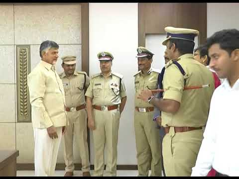 NEW IPS ASSOCIATION MEMBERS MET AP CM AT SECRETARIAT ON 02082018