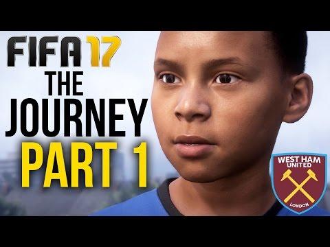 FIFA 17 THE JOURNEY Gameplay Walkthrough Part 1 - PRO CONTRACT (West Ham) #Fifa17