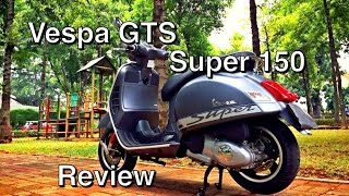 4. Vespa GTS 150 - Review