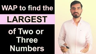 Program to find Greater between Two or Three Numbers in Java by Deepak