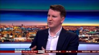 Cocoon interview on BBC World News. Discussing smart home security, technology and privacy.