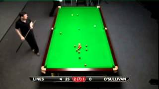 Peter Lines - Ronnie O'Sullivan (Full Match) Snooker Bluebell Wood Open 2013 - Round 8
