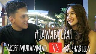 Video Jawab Cepat (Part1)  - Salshabilla VS Arief Muhammad @Poconggg MP3, 3GP, MP4, WEBM, AVI, FLV Desember 2017