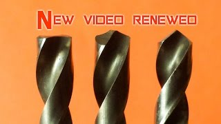 Video How to repair and sharpening drill bits,  sharpen drill bits for metal MP3, 3GP, MP4, WEBM, AVI, FLV November 2017
