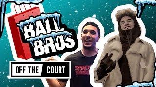 Video LaMelo & LiAngelo Ball Go Christmas Shopping In NYC! Trash CHINO HILLS & Have Snowball Fight!! MP3, 3GP, MP4, WEBM, AVI, FLV Januari 2018