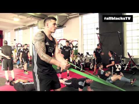 ラグビー世界最強チームのトレーニング