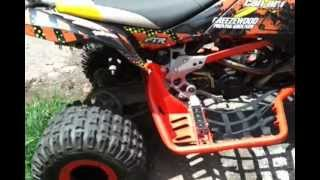 7. Orange Can-Am DS450 completed build