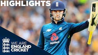 Roy Hits Ton In England's 2nd Highest Run Chase | England v Australia 4th ODI 2018 - Highlights