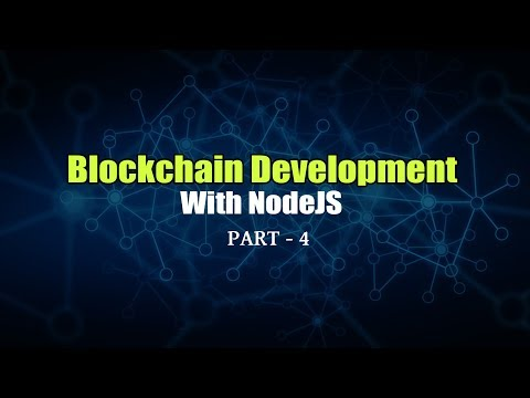 Blockchain Development With NodeJS | Calculating Hash And Building Blocks | Part 4 | Eduonix