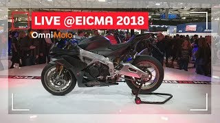 Aprilia RSV4 1100 Factory | EICMA 2018 - Video Novità