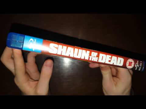 Shaun Of The Dead Bluray Unboxing