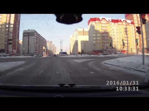 Подборка инцидентов и ДТП. Тюмень. (видео)