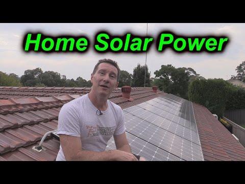 EEVblog #724 – Home Solar Power System Analysis & Update