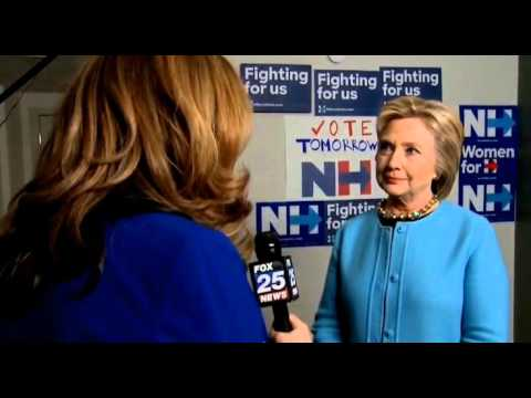 VIDEO: Reporter To Hillary: How Is A Socialist Beating You?