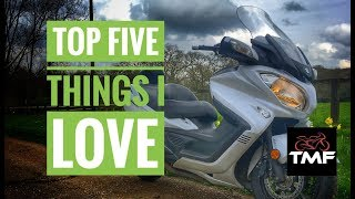 8. Suzuki Burgman 650 Executive | Top 5 things I love