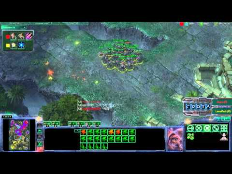 zenex - StarCraft 2 - Wings of Liberty - Patch 1.2.0 Zerg vs Protoss.