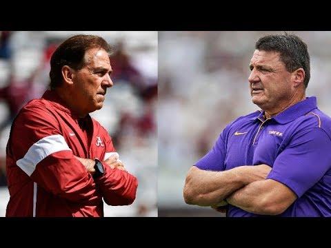 Alabama Crimson Tide vs. LSU Preview and score prediction