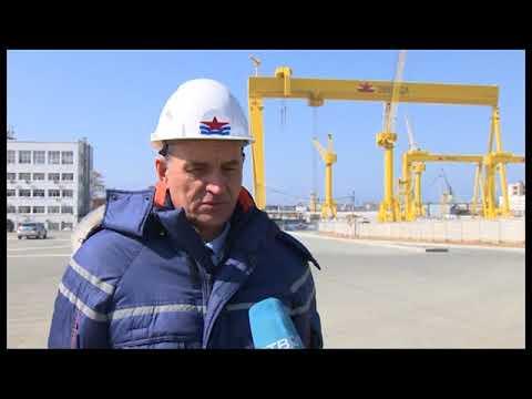 Экскурсия посудостроительному комплексу «Звезда»