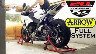10. Honda CBR 1000 RR 2012 Exhaust Arrow Full System SOUND (istimewa)