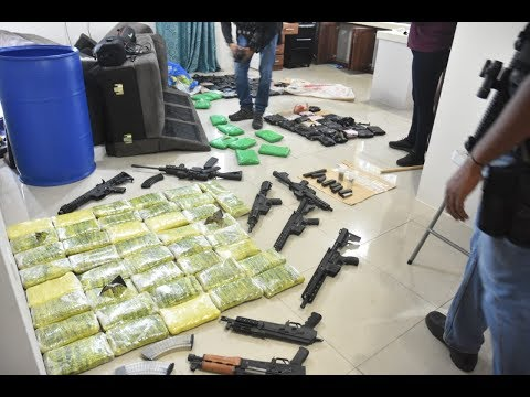 Police Commissioner Joins Officers In Major Drug & Gun Bust