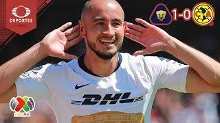 Video Pumas vence al América en CU |  Pumas 1 - 0 América | Clausura 2019 - J 7 | Televisa Deportes MP3, 3GP, MP4, WEBM, AVI, FLV April 2019