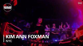 Kim Ann Foxman - Live @ Boiler Room NYC 2015