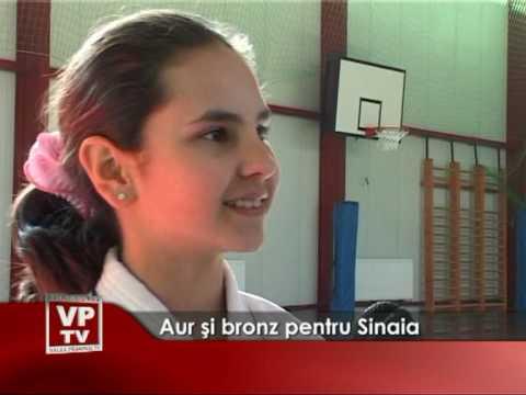 Aur şi bronz pentru Sinaia