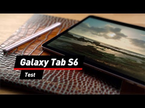 Samsung Galaxy Tab S6 im Video: Das Edel-Tablet