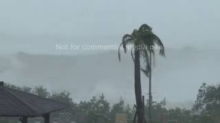 Kenting Taiwan  City pictures : Super Typhoon Meranti Lashes Kenting Taiwan 14th Sept 2016
