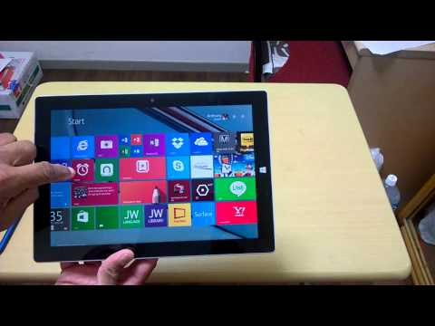 Surface 3 LTE Sim Port and Network