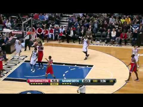 NBA CIRCLE – Washington Wizards Vs Minnesota Timberwolves Highlights 6 March 2013 www.nbacircle.com