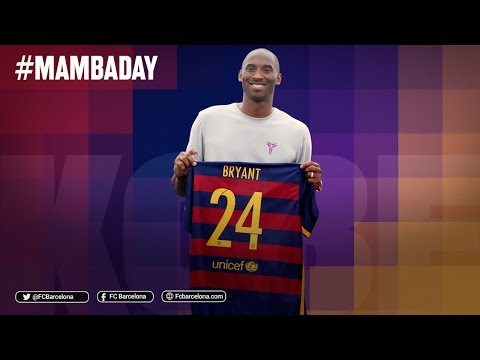 Video: Barcelona pays tribute to Kobe Bryant on his retirement from basketball