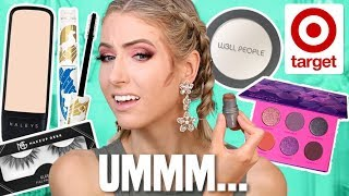 FULL FACE TESTING INDIE/SMALL BRANDS FROM TARGET... by Rachhloves