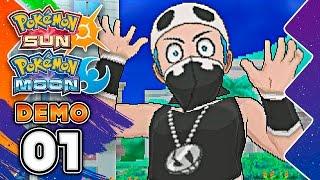 IT. IS. TIME!!!! Pokémon Sun & Pokémon Moon Special Demo Version PART ONE w/ TheKingNappy! by King Nappy