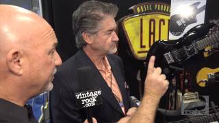 http://www.vintagerock.com - VintageRock.com's Junkman talks with Don Lace (Lace Music Products) at the 2017 NAMM Show on Saturday, January 21, 2017 in Anaheim, CA. Captured and edited by Mike Thoman.